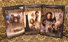 THE LORD OF THE RINGS TRILOGY, 3 DVD SETS,  6 DISC TOTAL