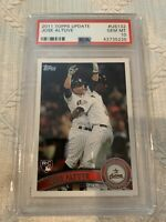 Jose Altuve 2011 Topps update series #US132 Houston Astros RC rookie PSA 10
