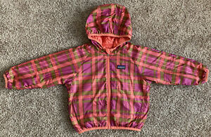 Patagonia Reversible Size 18-24M Infant Baby Youth Jacket Plaid