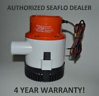 SEAFLO 24V 3700 GPH Submersible Bilge Pump