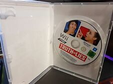 Truth or Lies (no sleeve no booklet) -  NINTENDO WII - FREE POST