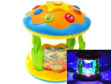 Interactive Toy Music Flash Projection Lamplight for kids gift present