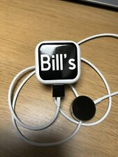 Personalised Apple Watch Charger, Plug & cable Label  Set In a Range Of Colours