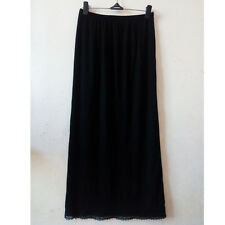 """Women High Waist Slips Lady Black White Underskirt Petticoat Half Slips 23-39"""""""