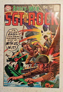 Our Army at War #210 ! DC 1969 ! RUSS HEATH ! FRED RAY ! NICE COPY ! hayfamzone