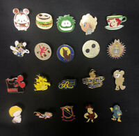 Lot 20 Assorted Disney Trading Pins No Duplicates