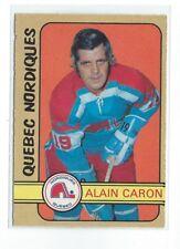 Alain Caron 1972/73 O-PEE-CHEE Quebec Nordiques Rookie Card #324