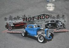 Newport Blue T-Shirt Ford Hot Rod Rally American Tradition Licensed Mens Tee