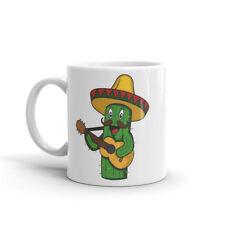 CACTUS messicano impressionante Tazza-Regalo da Viaggio Messico Sombrero chitarra Divertente Cup #4703