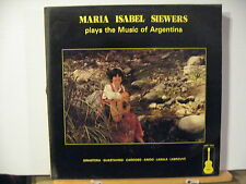 MARIA ISABEL SIEWERS plays the music of ARGENTINA 1984  free uk post