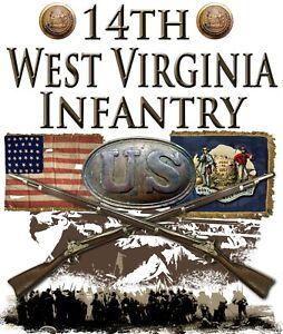 14th West Virginia Infantry American Civil War 11 X 14 Print