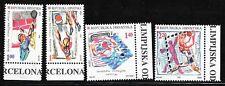 CROATIA SC 337-40 NH issue of 1997 - OLYMPICS