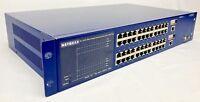LIFETIME WARRANTY Netgear FSM750S 48-Port 10/100 Managed Switch W/ 2 GBIC Ports