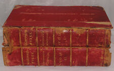 ANTIQUE BOOK JOANNIS LIGHTFOOTI WORKS LEUSDEN EDITION BROEDELET 1618 OPERA OMNIA