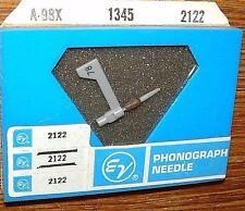 New listing Diamond Phonograph Needle Ev2122 for Astatic N56 N58 153, 786 603 163-Ss77 Ac356