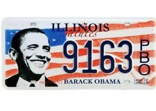 Barrack Obama Illinois Licence Number Plate - American USA Replica License Sign