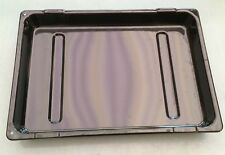 INDESIT I6GG1W / UK OVEN GRILL PAN TRAY DRIP TRAY 380 x 270mm GENUINE PART