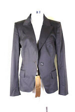 New NWT GUCCI Brown Sophisticated Corporate Offic Suit Blazer Jacket 7 8 9 44
