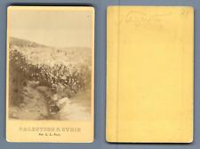 L.L., Palestine, Nazareth  CDV vintage albumen. Palestine & Syrie Tirage album