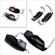"2 Pcs Black 7/8""&1/8"" Motorcycle Bikes Handlebar Handguards Protection For Honda"