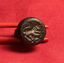 Rare Medieval Templar Knigth's Seal,  Double Lion Stamp, 11. Century,