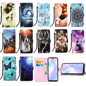 For Galaxy S8 S9 S10 A10S A20S M10 Leather Wallet Flip Stand Phone Case Cover
