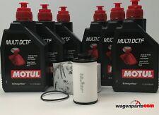 Aceite Transmisión DSG, DKG, Motul DCTF G052182A2, Filtro Caja 02E305051C