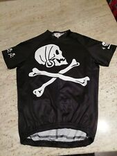 b5ad3489b Foska kids cycling jersey skull and crossbones