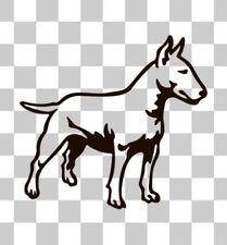 Staffordshire Bull Terrier Inglese prepotente Auto Furgone Laptop VETROFANIA Decalcomania