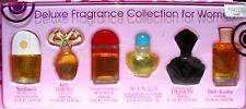 "$191 Retail,80% Off Sale: 6 Women Perfumes Set""Red Door,White Diamonds; Etc;Bnib"