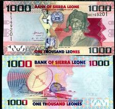 Sierra Leone - 1000 Leones - UNC currency note - 2010 issue