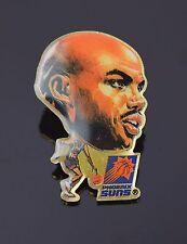 Charles Barkley Vintage Phoenix Suns Enamel Button Lapel Pin Pinback