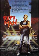 REPO MAN Movie POSTER 11x17 German Emilio Estevez Harry Dean Stanton Sy