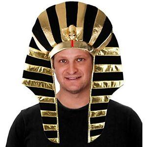 Tigerdoe Pharaoh Hat - Egyptian Headpiece - King TUT Costume - King Pharaoh