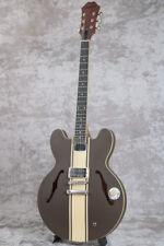 New Epiphone Tom Delonge Signature ES-333 Brown Electric Guitar From Japan