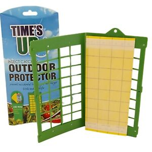 Greenhouse Home Indoors Outdoors Insect Bug Aphids Fly Catcher Sticky Glue Paper