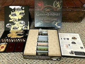 """GAME OF THRONES """"THE TRIVIA GAME"""" SEASONS 1-4 HBO~MINT!"""