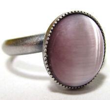 Ovale Modeschmuck-Ringe aus Glas