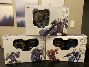Iron Factory IF EX22 EX23 EX24 War Giant Set US (Transformers Legends Bruticus)
