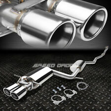 """FOR 97-01 AUDI A4 QUATTRO 1.8T AWD 3"""" DOUBLE WALL DUAL ROUND TIP CATBACK EXHAUST"""