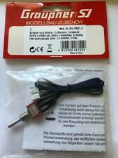 GRAUPNER 33001.4 SWITCH FOR HOTT RADIO MIDDLE POSITION- SPRING RETURN & ONE LOCK