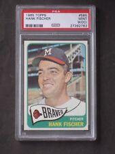 1965 Topps Hank Fischer # 585 PSA 9 MINT (OC)