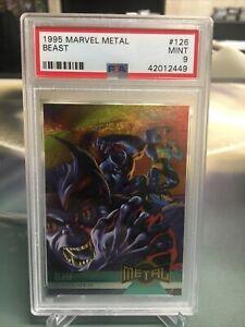 Marvel - X-Men - BEAST #126 - 1995 Marvel Metal PSA 9 MINT population 3!!