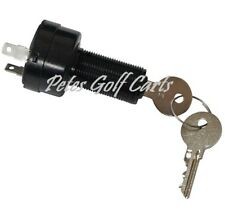 Golf Cart Key Switch and Uncommon Key Club Car DS Precedent Electric 2 Terminals