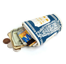 Lucky Beggar Greek Coffee Cup Coin Purse Wallet we are happy to serve you NYC