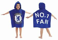 ORIGINALE CHELSEA LONDON Bambini FC kaputzen-poncho 120x60cm cotone Telo da