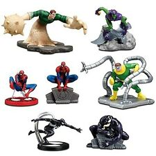 Spider-Man Disney Store Marvel Comics Figurine Playset NWT