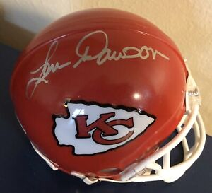 Len Dawson Autographed JSA Authenticated Kansas City Chiefs Mini Helmet