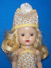 Vintage Nancy Ann StoryBook Strung Hard Plastic Walker Muffie Doll NASB 50's