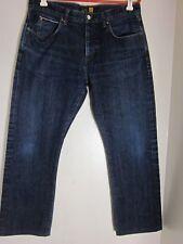 J. Crew Men's Jeans Slim Straight 34 X 28 selvedge denim red line